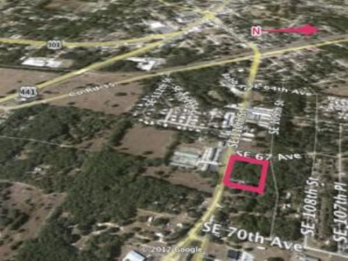 Bank Owned Auction: Commercial Site : Belleview : Marion County : Florida