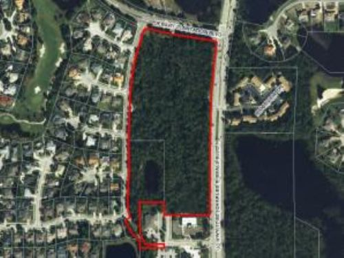 Bank Owned Auction: Comm. Acreage : Debary : Volusia County : Florida