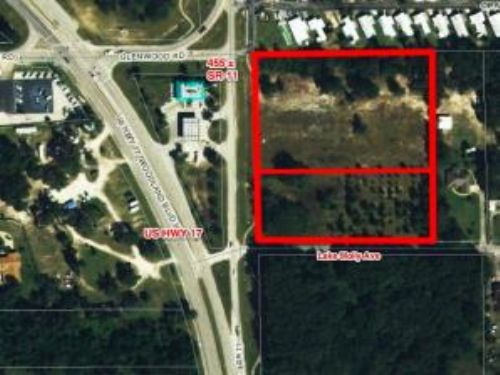 Bank Owned Auction: Comm. Acreage : Deland : Volusia County : Florida