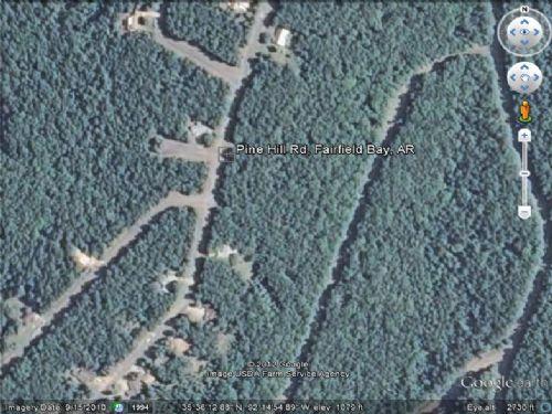 Land For Sale : Fairfield Bay : Van Buren County : Arkansas