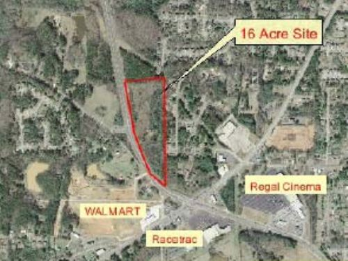 16 Acres On Barrett Parkway : Marietta : Cobb County : Georgia