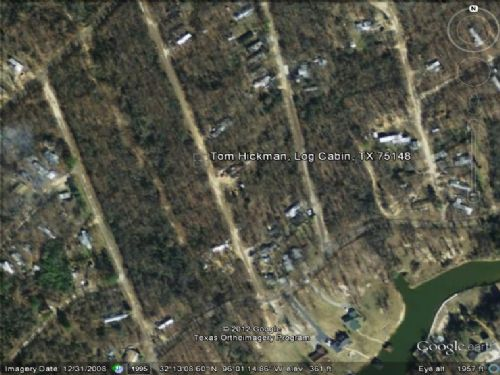 Land For Sale : Log Cabin : Henderson County : Texas