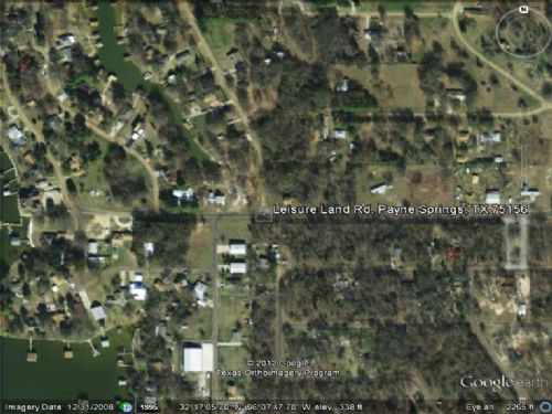 Vacant Lot For Sale : Payne Springs : Henderson County : Texas