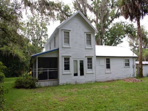 H-184 - Farm Home On 18.5 Acres : Melrose : Alachua County : Florida