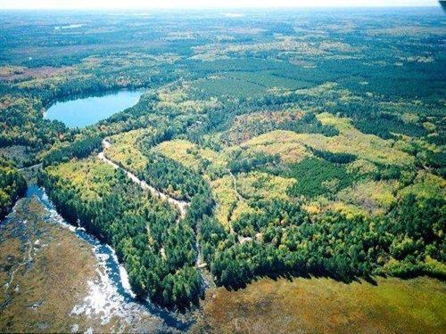 Pristine Waters Preserve, Lot 12 : Hazelhurst : Oneida County : Wisconsin