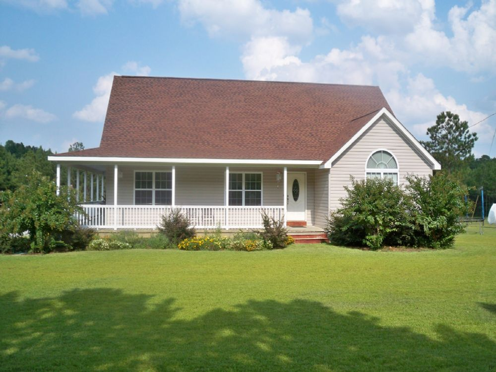 Expired country home on 10 5 acres lot for sale for Country homes in georgia