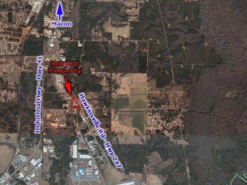 7.3 Acre Light Industrial Site : Macon : Bibb County : Georgia