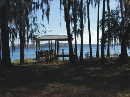 (wl-061) 1.5 Acres On Lake Santa Fe : Waldo : Alachua County : Florida