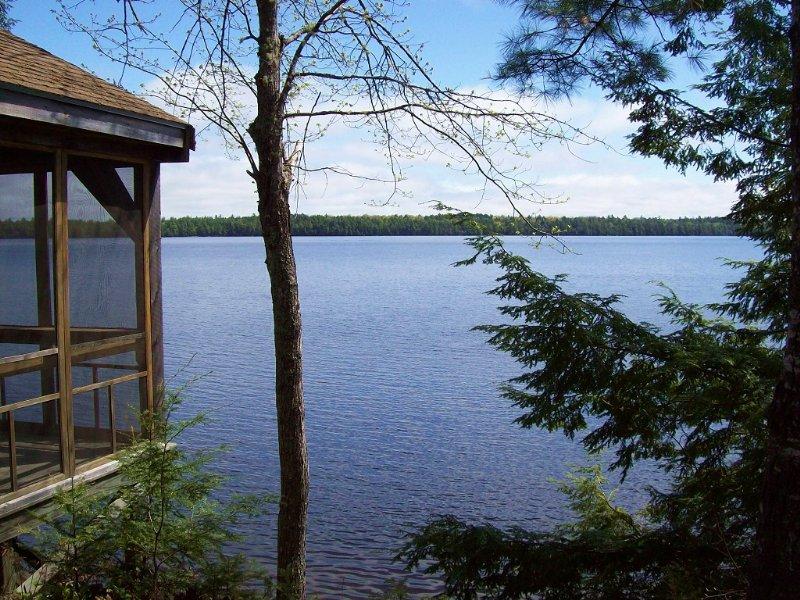 Chet's Camps On Big Lake : Grand Lake Stream : Washington County : Maine