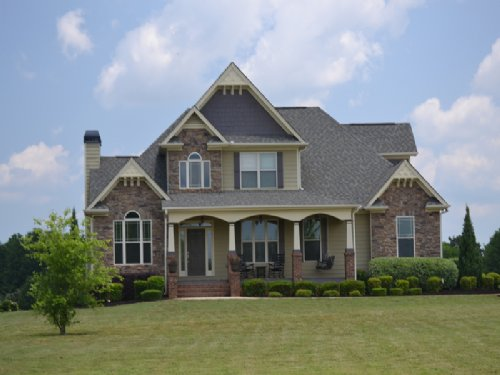 Craftsman Home On 7ac, Near Baxter : Social Circle : Walton County : Georgia
