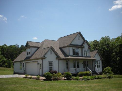 Energy Efficient Home With 13 Acres : Campobello : Spartanburg County : South Carolina