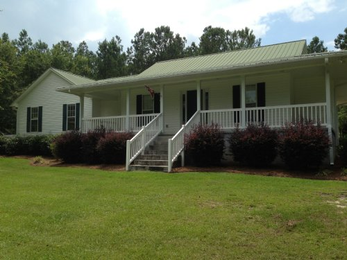 Country Home On 11 Acres : Swainsboro : Emanuel County : Georgia