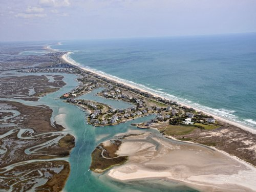 Amazing Waterfront Retreat : Holden Beach Area : Brunswick County : North Carolina