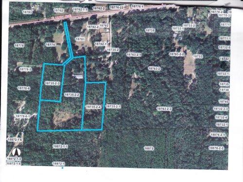 5.7 Acres Across From Santa Fe Lake : Melrose : Alachua County : Florida
