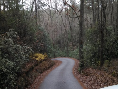 Secluded Mountain Property : Toccoa : Habersham County : Georgia