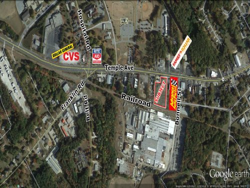 2 Acres - Temple Ave : Newnan : Coweta County : Georgia
