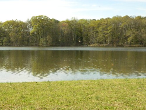 Lake Front Property With Nice Home : Arnoldsville : Oglethorpe County : Georgia