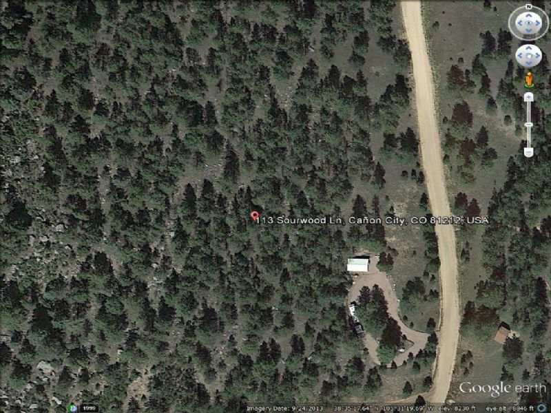 Beautiful Lot Looking To Sell : Canon City : Fremont County : Colorado