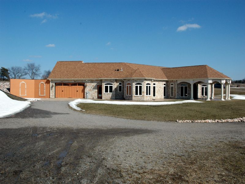 One Of A Kind Custom Built Home : Amherst : Portage County : Wisconsin