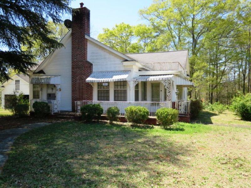 Charming 3br/1ba Home : Ashland : Clay County : Alabama