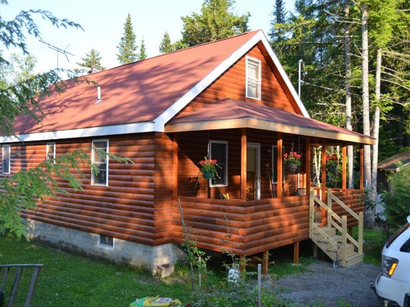 Schoodic Lake Retreat : Lake View : Piscataquis County : Maine