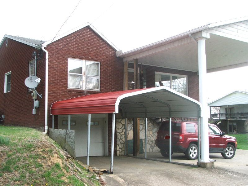 Brick Home With Basement : Glenville : Gilmer County : West Virginia