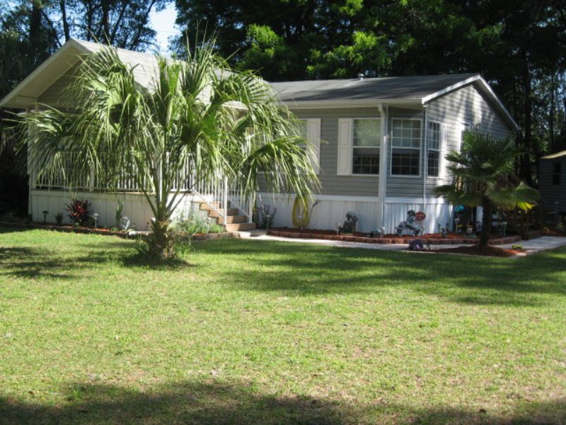 Nice 3/2 Mh On 5 Acres : Old Town : Dixie County : Florida