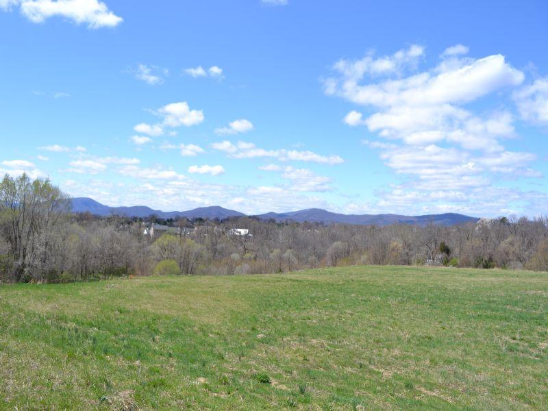 14.89 Acre Undeveloped Land : Roanoke : Roanoke County : Virginia