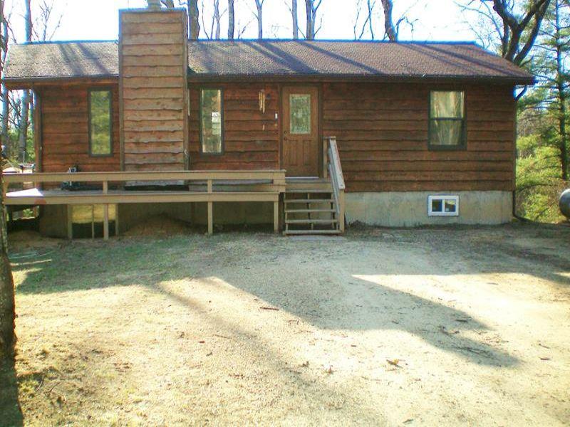 Outdoor Paradise 2 Br Ranch : Wisconsin Dellls : Adams County : Wisconsin