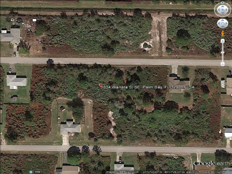 Beautiful Lots For Sale : Palm Bay : Brevard County : Florida