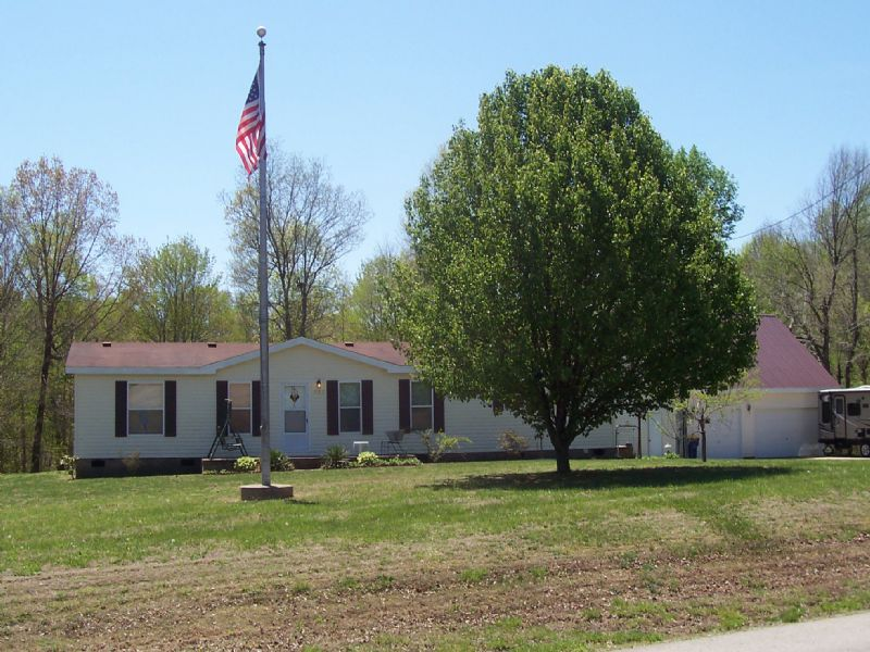 Home On 7.7 Acres : Edmonton : Metcalfe County : Kentucky