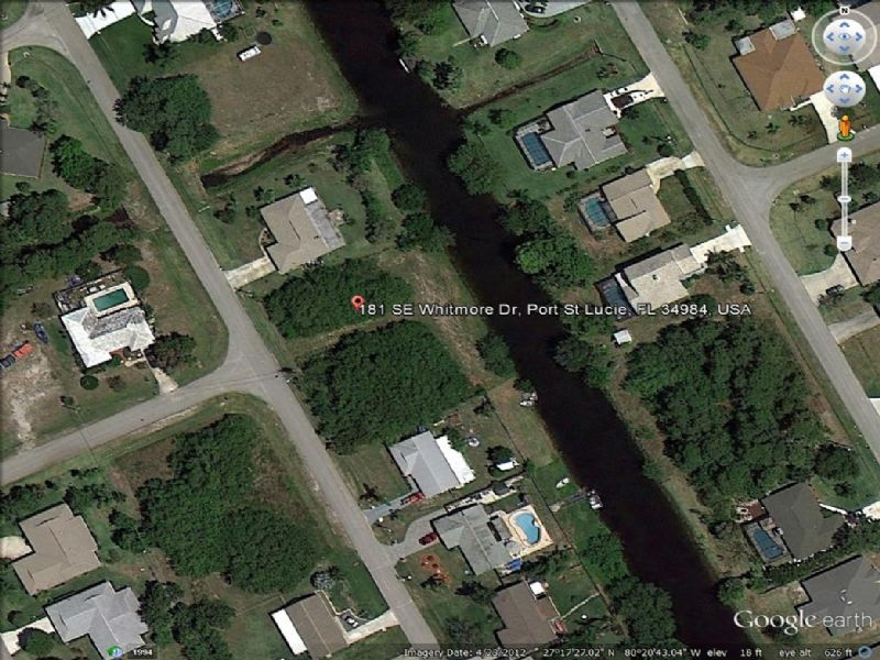 Gorgeous Lot Looking To Sell : Port St. Lucie : Saint Lucie County : Florida