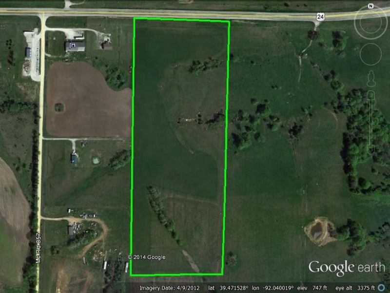 20 Acres : Paris : Monroe County : Missouri