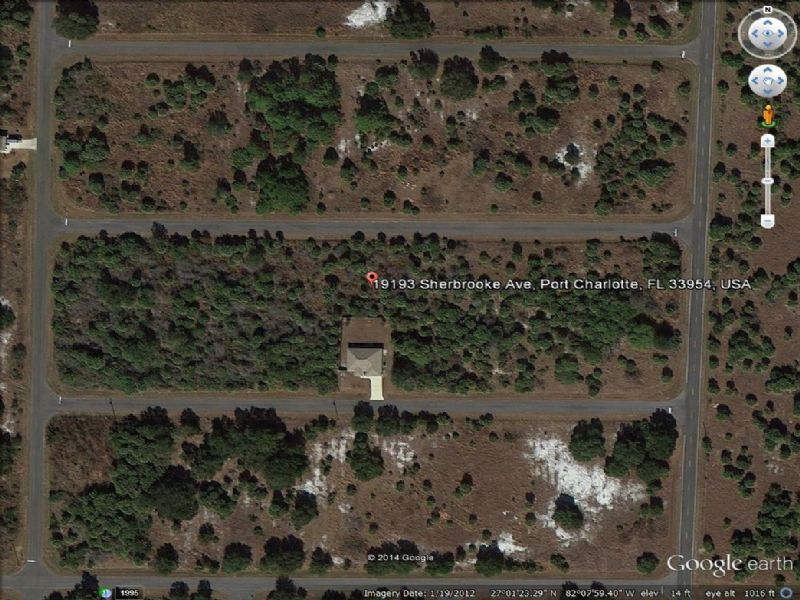 Nice Lot Looking To Sell : Port Charlotte : Charlotte County : Florida