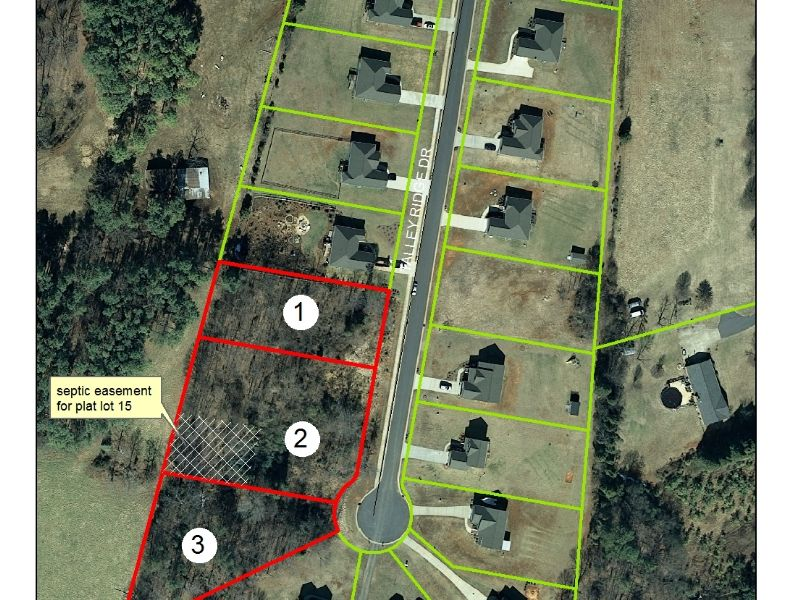 3 Residential Lots In Troutman, Nc : Troutman : Iredell County : North Carolina