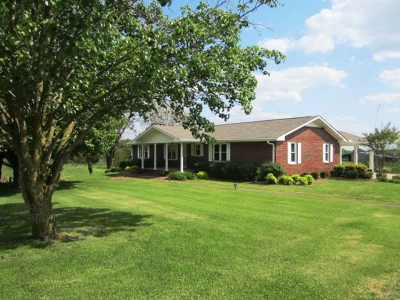 3br/3ba Brick Home In Barfield : Lineville : Clay County : Alabama
