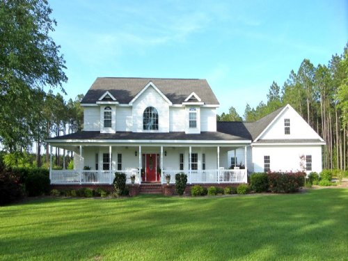 Elite Home On 6 Acres : Jesup : Wayne County : Georgia