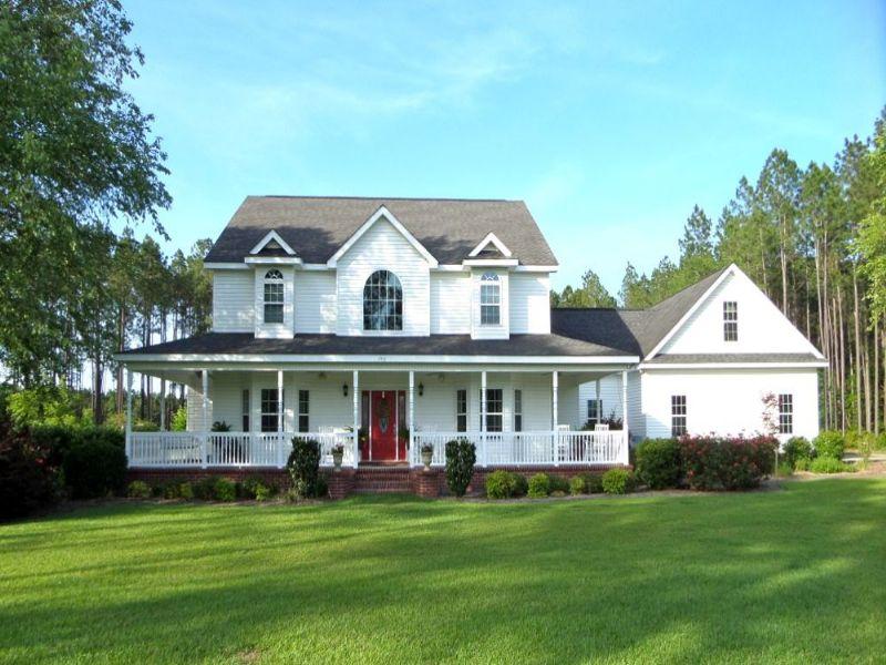 Elite Home On 6 Acres : Jesup : Wayne County : Georgia