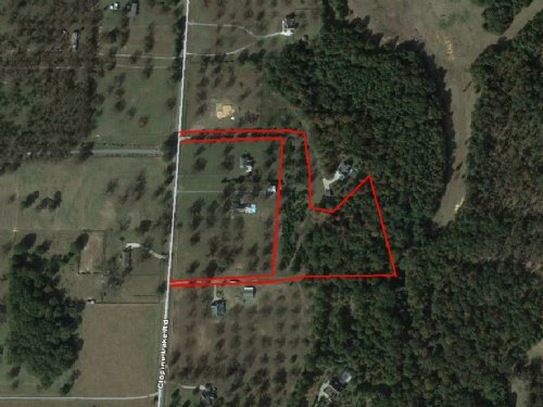 9.06 Acres On Clopine Lake Road : Fort Valley : Peach County : Georgia