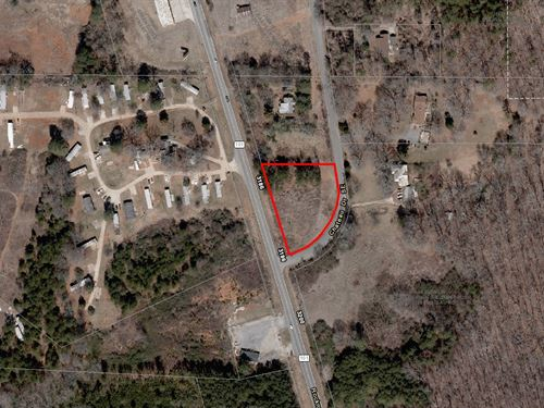 Corner Commercial Lot : Rome : Floyd County : Georgia