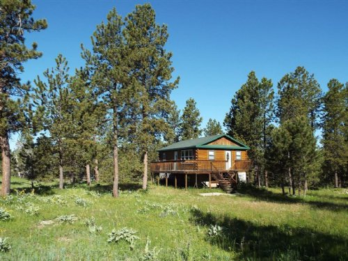 The Podio Cabin : Four Corners : Weston County : Wyoming