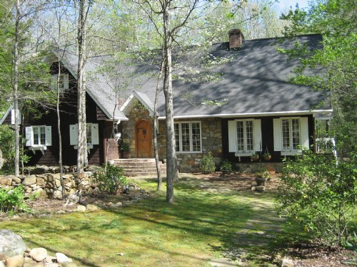 Mountain Chalet Home At Table Rock : Pickens : South Carolina