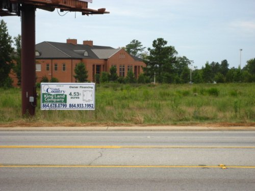 4.5 Ac Adjacent To Tri-county Tech : Anderson : South Carolina