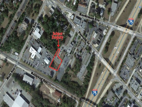 .54 Acres In Downtown Macon : Macon : Bibb County : Georgia