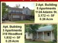 2  Apartment Buildings