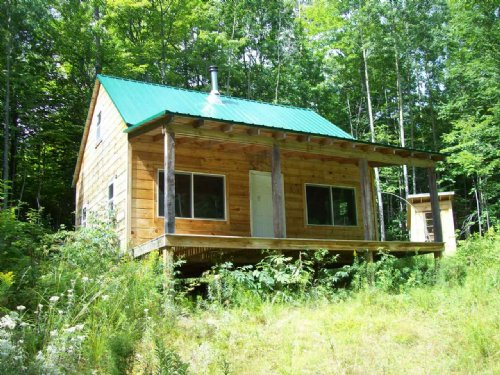 Upper Enchanted Hunting Cabin : Upper Enchated : Somerset County : Maine