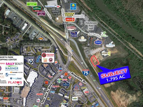 1.795 Acres River Place : Macon : Bibb County : Georgia