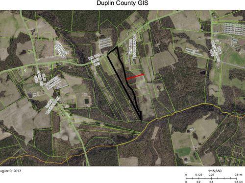 4 Bedroom Septic Permit On File. : Rose Hill : Duplin County : North Carolina