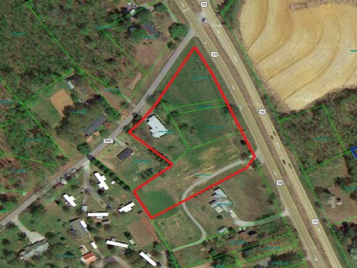 3.33 Acres - Hwy 29 : Blairs : Pittsylvania County : Virginia