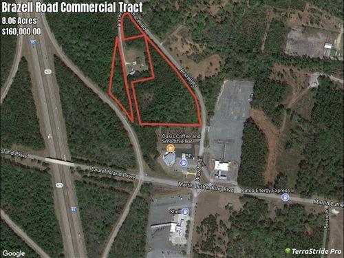 Interstate Comercial I-95 Exit 6 Ga : Kingsland : Camden County : Georgia